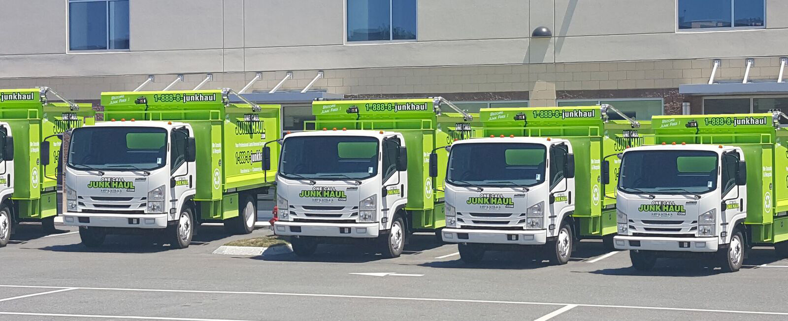 One Call Junk Haul Trucks